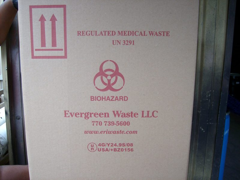 Medical Waste Box